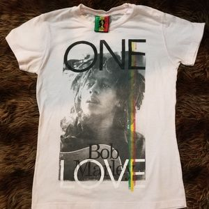 Ladies Bob Marley Shirt